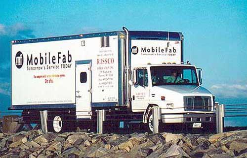 MobileFab truck