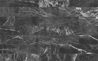 Black rectangle marble wall