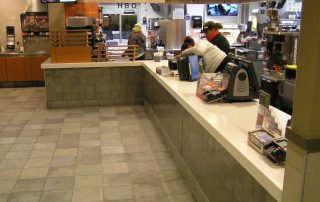 McDonalds Waiting area