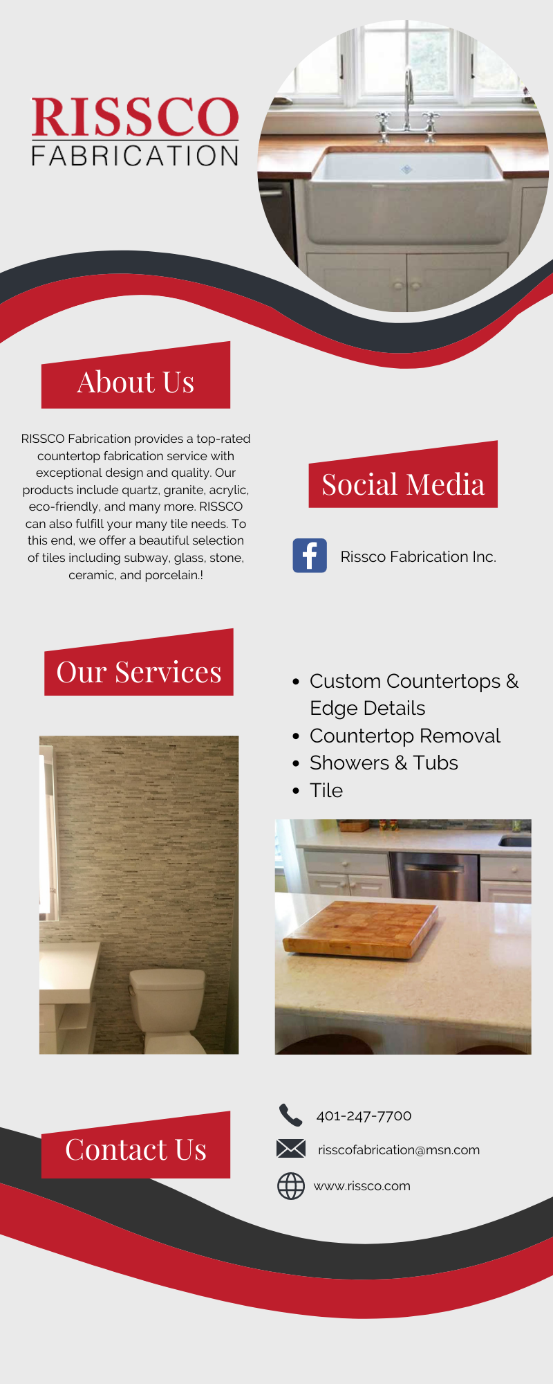 Top-Rated Countertop Fabrication Service 1
